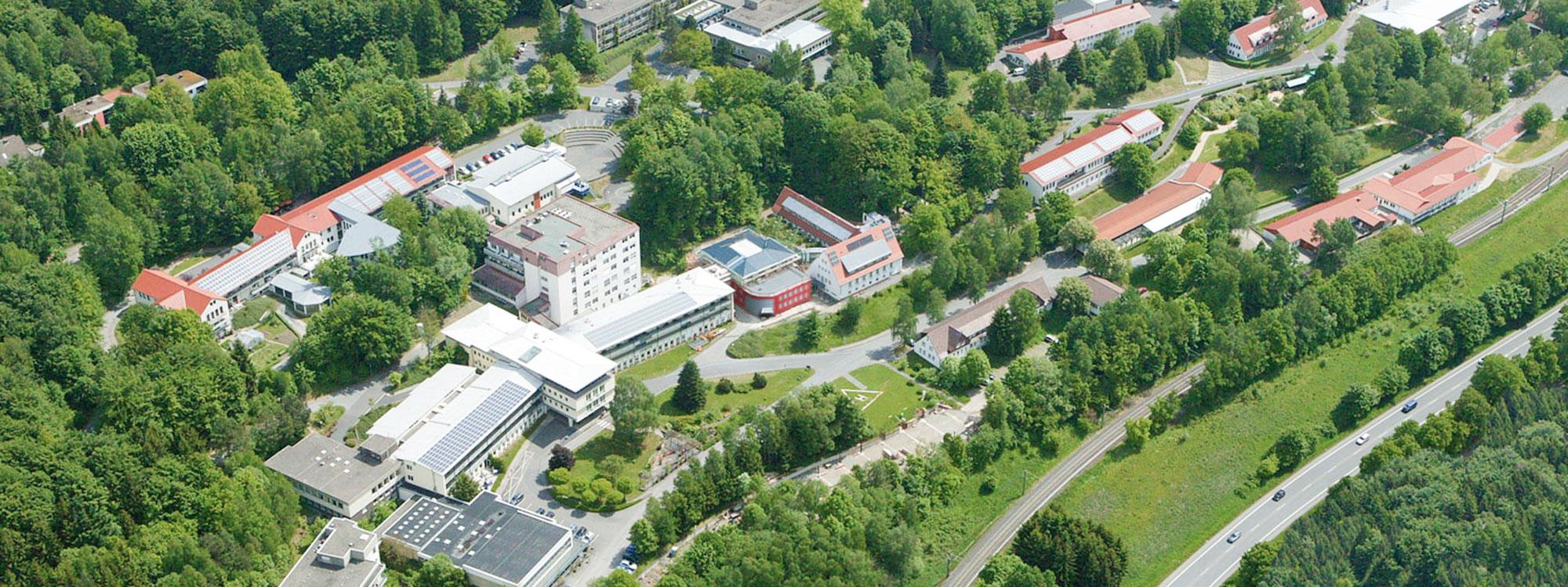 Karriere bei LICHTENAU e.V. - Blick von oben auf das Gelände